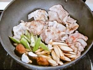 豚肉の味噌しょうが焼き