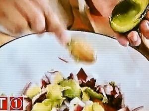 タコのサルササラダ