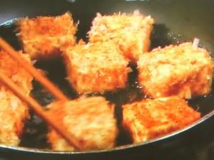 豆腐のおかか焼き たっぷり薬味のせ