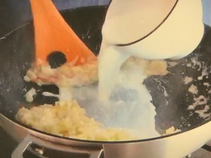 もこみち流 鮭のホワイトクリームシチュー