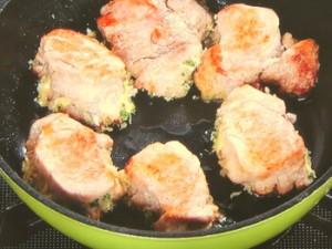 豚フィレの格子焼き