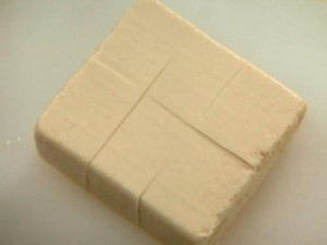 豆腐のたらこ煮