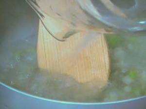あさりと枝豆のチャウダー