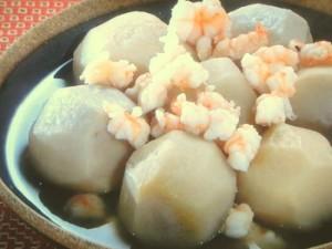 里芋とえびの含め煮