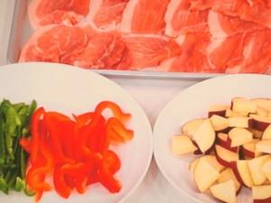 豚肉と野菜のカレーマリネ
