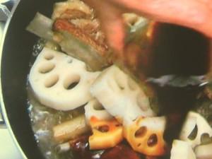 スペアリブの甘酢煮