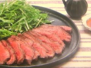 ステーキ肉のローストビーフ風