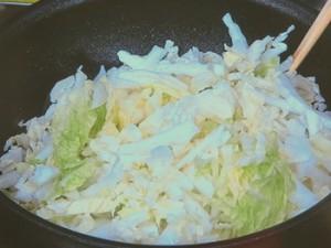 白菜のおかか炒め