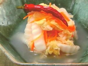 白菜のおもゆ漬け