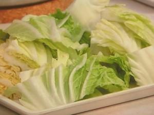 白菜の鶏スープ煮