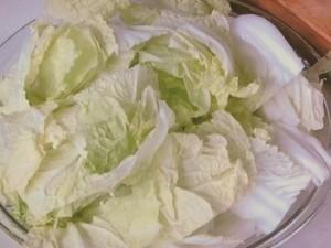 白菜と鶏のごま煮