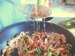 もこみち流 ザーサイと細切り肉炒め