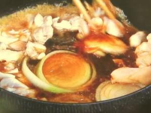 鶏と香味野菜のすき焼き鍋