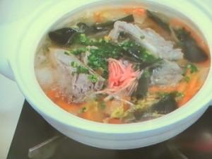 ソーキ汁風鍋