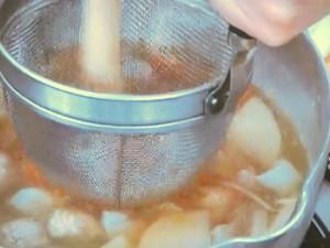 鶏団子のさつま汁