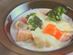 野菜のクリームシチュー