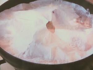 ブリと長イモの煮物