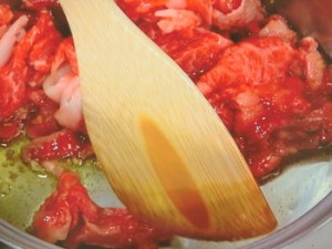 トマト肉じゃが