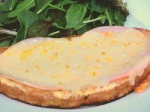 ハム&チーズのフレンチトースト