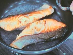 鮭の照り焼き