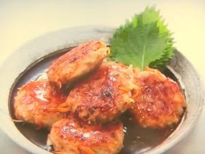 根菜鶏つくね焼