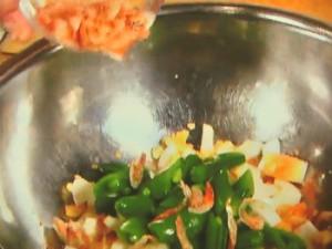 桜海老と春豆の卵サラダ