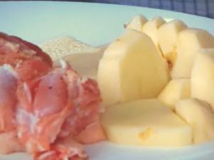 鶏肉とじゃがいものチーズグラタン