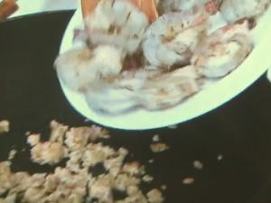 タケノコとエビのさわやか焼きそば
