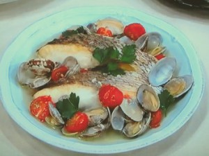 切り身魚で簡単アクアパッツァ♪