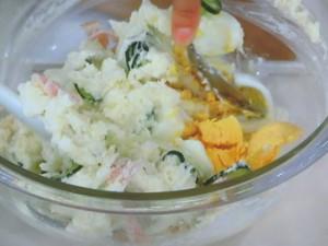 ヨーグルト風味のポテトサラダ