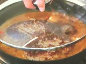 ジューシーハンバーグのカレー煮込み