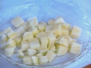 枝豆のじゃが餅