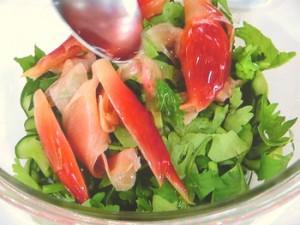 きゅうりの薬味サラダ