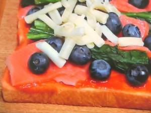 白内障予防 最強ピザトースト