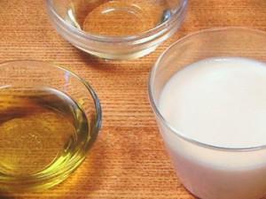 豆乳オイルソース