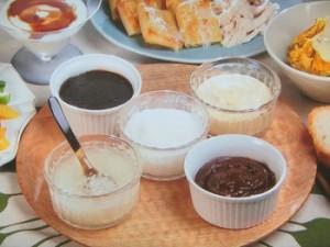 ココナッツオイルのスプレッド5種