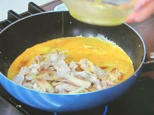豚肉の香味卵炒め