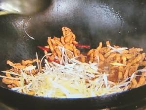 豚肉とゴーヤーのあえ麺