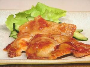 豚肉の梅照り焼き