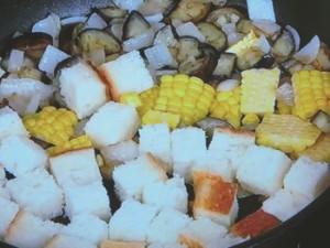 パンと夏野菜のサラダ仕立て