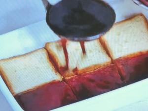 パンのぶどうゼリー