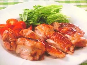 鶏もも肉の柚子こしょう焼き