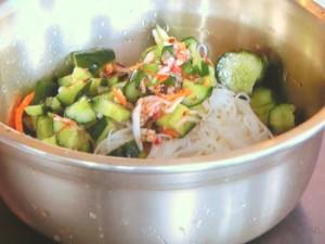 オイキムチピビン麺