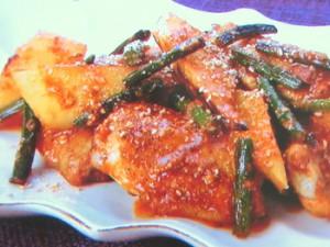 鶏手羽と大根のスタミナ炒め