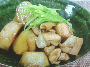 里芋と鶏の煮っころがし