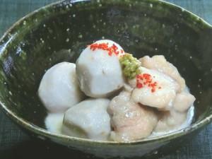 里芋と鶏肉の豆乳煮