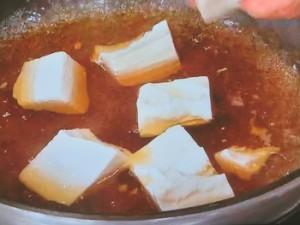 豆腐とほうれん草のかき卵煮