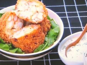 もこみち流 タルタルソースとエビカツ丼