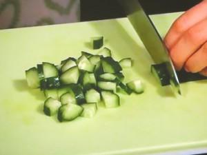 チョップドサラダ