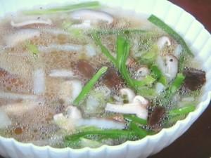 春雨と白菜のおかずスープ